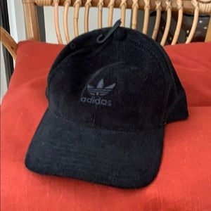 Adidas 6 panel corduroy hat